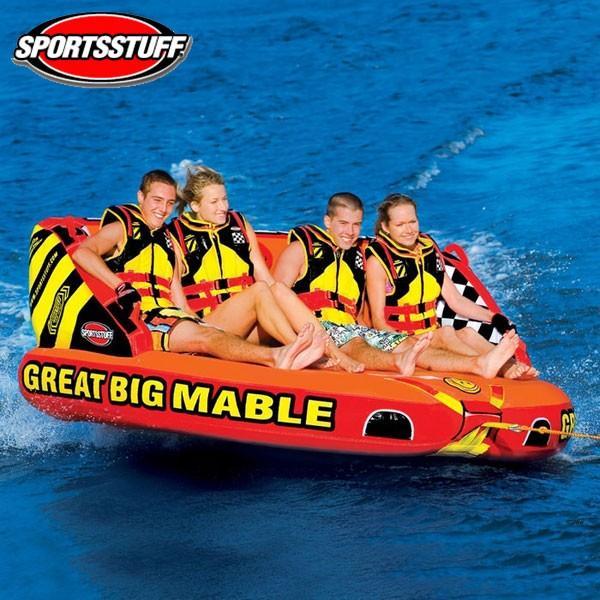 SPORTSSTUFF(スポーツスタッフ) グレートビッグマーブル GREAT BIG MABLE 4人乗りトーイングチューブ