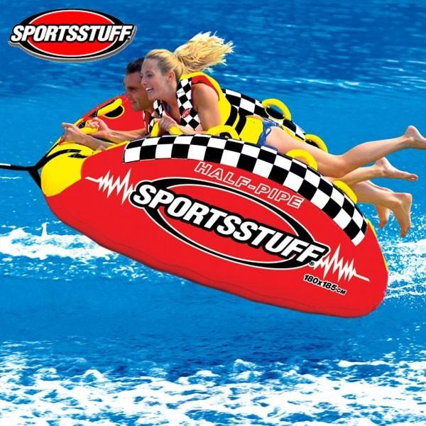 春新作の SPORTSSTUFF(スポーツスタッフ) ハーフパイプランページ 2人乗りトーイングチューブ, そふまるShop 36e8d04f