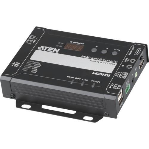 【送料無料】ATEN ビデオ延長器用レシーバー HDMI/Video over IP 1台【代引不可商品・メーカー直送】【北海道・沖縄送料別途】