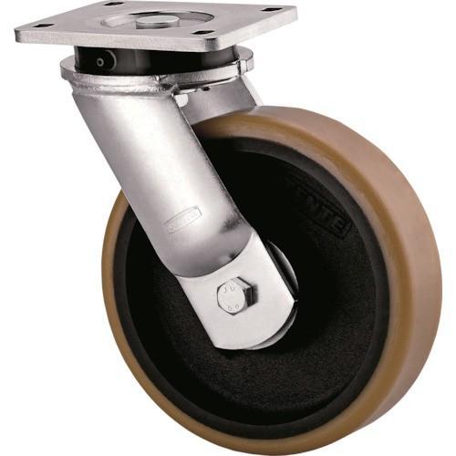 テンテキャスター 超重荷重用キャスター(ウレタン車輪) φ300 自在式 9650FTP300P63 1個【別途運賃必要なためご連絡いたします。】