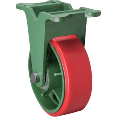 東北車輛製造所 幅広型固定金具付ウレタン車輪 300X100 300X100TKULB 1個【別途運賃必要なためご連絡いたします。】