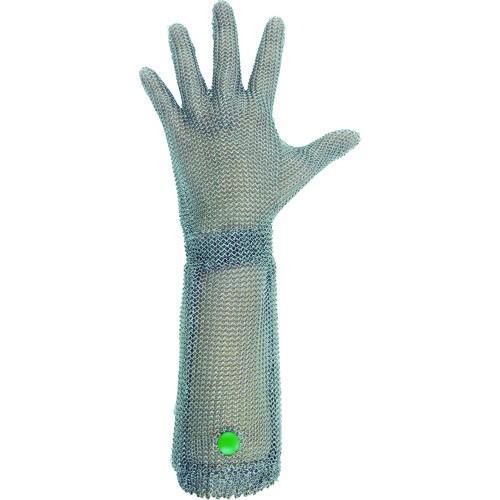 【送料無料】ミドリ安全 ステンレス製 耐切創クサリ手袋 5本指 ロングタイプ WILCO−550 SSサイズ 1枚 1枚【北海道・沖縄送料別途】