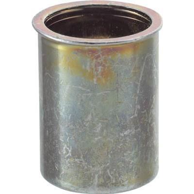 【送込】TRUSCO クリンプナット薄頭スチール 板厚2.5 M5X0.8 1000入 1箱(1000個入)【302-1416】【北海道・沖縄送別】