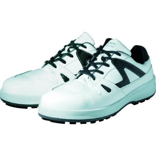 (株)シモン シモン 安全靴 短靴 8611白/ブルー 25.0cm 8611WB-25.0 1足