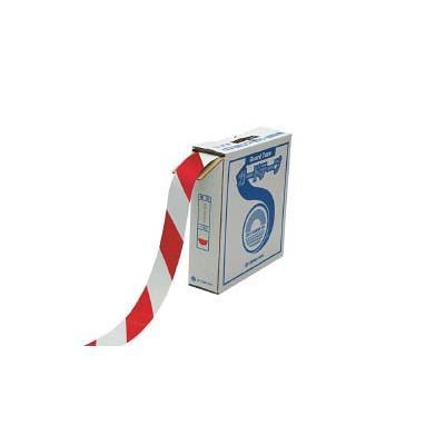 【送込】(株)日本緑十字社 緑十字 GT−501WR 50mm幅×100m 白・赤色 オレフィン樹脂 148063 1巻【北海道・沖縄送別】