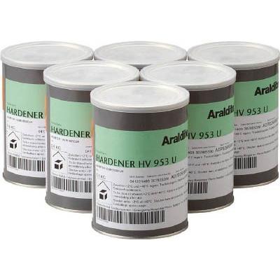 【売切れ】【送料無料】アラルダイト アラルダイトHV953U(硬化剤) 0.8kg×6個 HV953U 1箱(6個入)【北海道・沖縄送料別途】