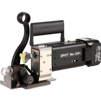 SPOT コードレス結束機 No.35Vi 本体セット NO35VI 1台【代引不可商品・メーカー直送】【別途運賃必要なためご連絡いたします。】