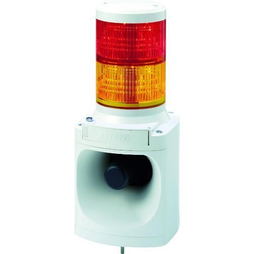 【送料無料】(株)パトライト パトライト LED信号灯付き電子音報知器 LKEH202FA-RY 1台【北海道・沖縄送料別途】【751-4654】