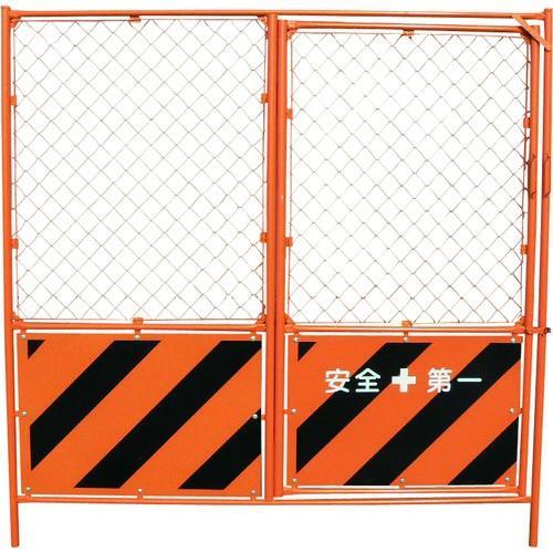 グリーンクロス 扉付ガードフェンス 1104520112 1枚【代引不可】【別途運賃必要ご連絡いたします】【法人様方のみのお取扱いとなります】