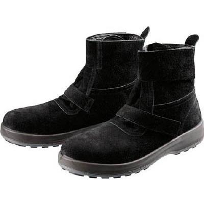 (株)シモン シモン 安全靴 WS28黒床 24.0cm WS28BKT-24.0 1足【784-7637】