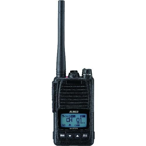 【送料無料】アルインコ デジタル簡易無線機 登録局 大容量バッテリータイプ DJDPS70KB 1台【北海道・沖縄送料別途】
