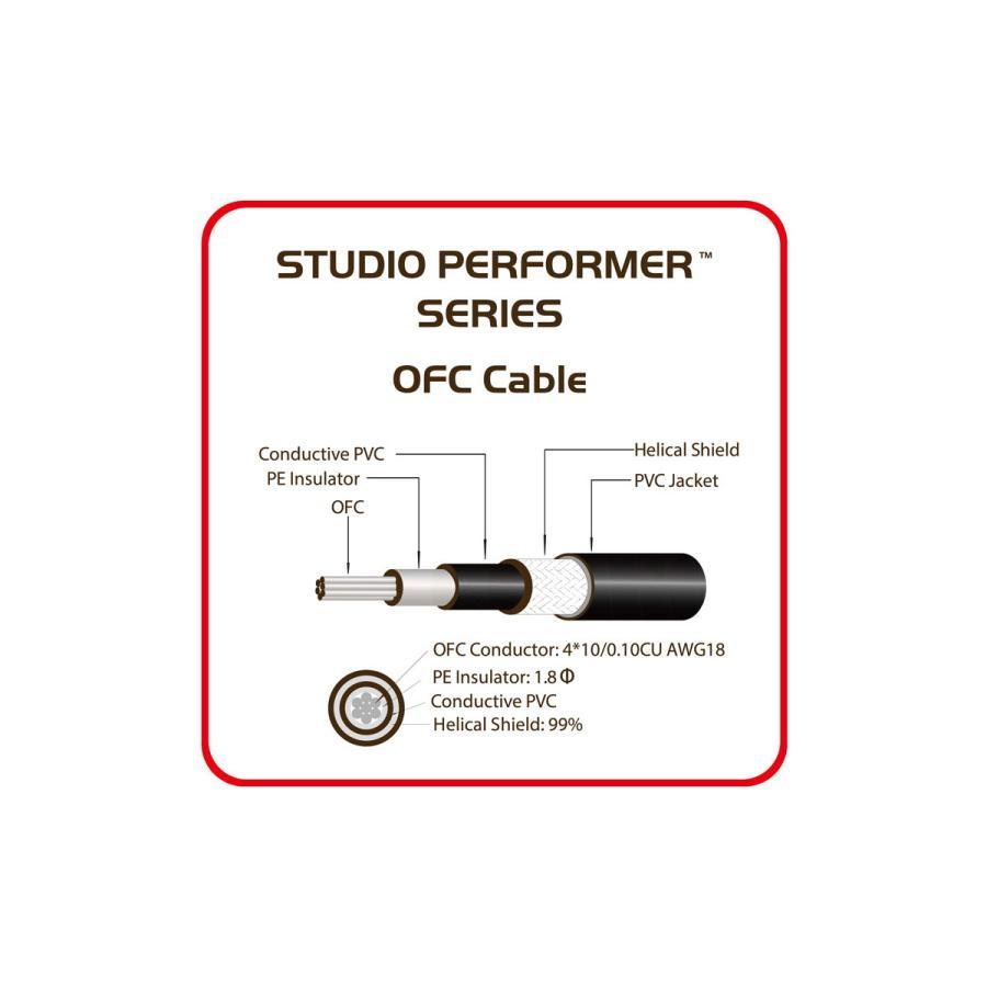 ギターケーブル 3メートルSS アリアプロ2 ASG-10SP (10ft_3m, S_S) AriaProII STUDIO PERFORMER Cable _asg10sp-3ss_G&G MUSIC HOTLINE - 通販 - Yahoo!ショッピング