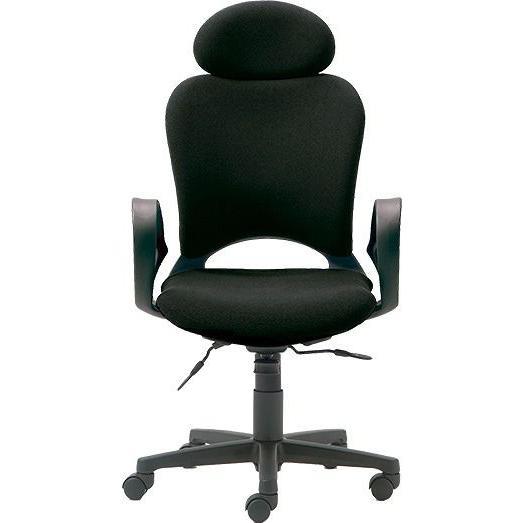GARAGE ■□売れ筋黒色 限定価格 腰痛対策の椅子 パソコンチェア Gウレタンキャスター Extraハイバック ループ肘  KB-Z20SEL  KB-Z20SEL