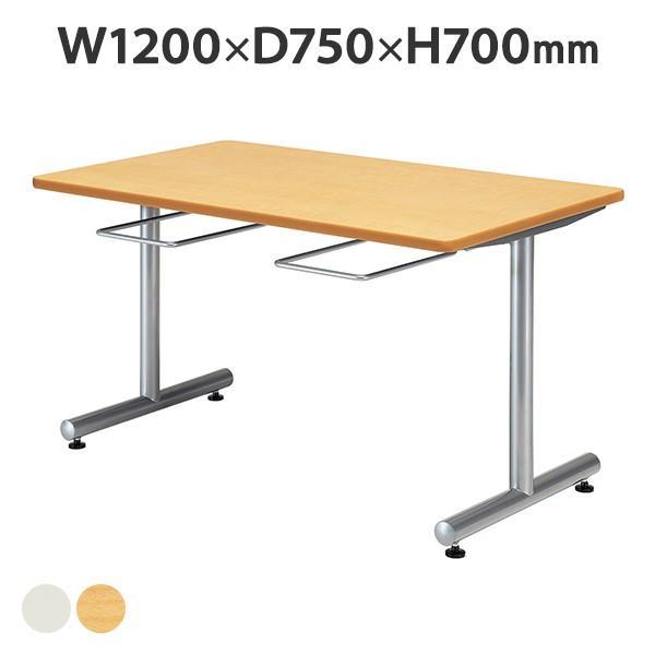 食堂テーブル【DYT-1275】W1200mm×D750mm 塗装タイプ イス掛け式 2台〜@¥ 1,500引き 送料無料