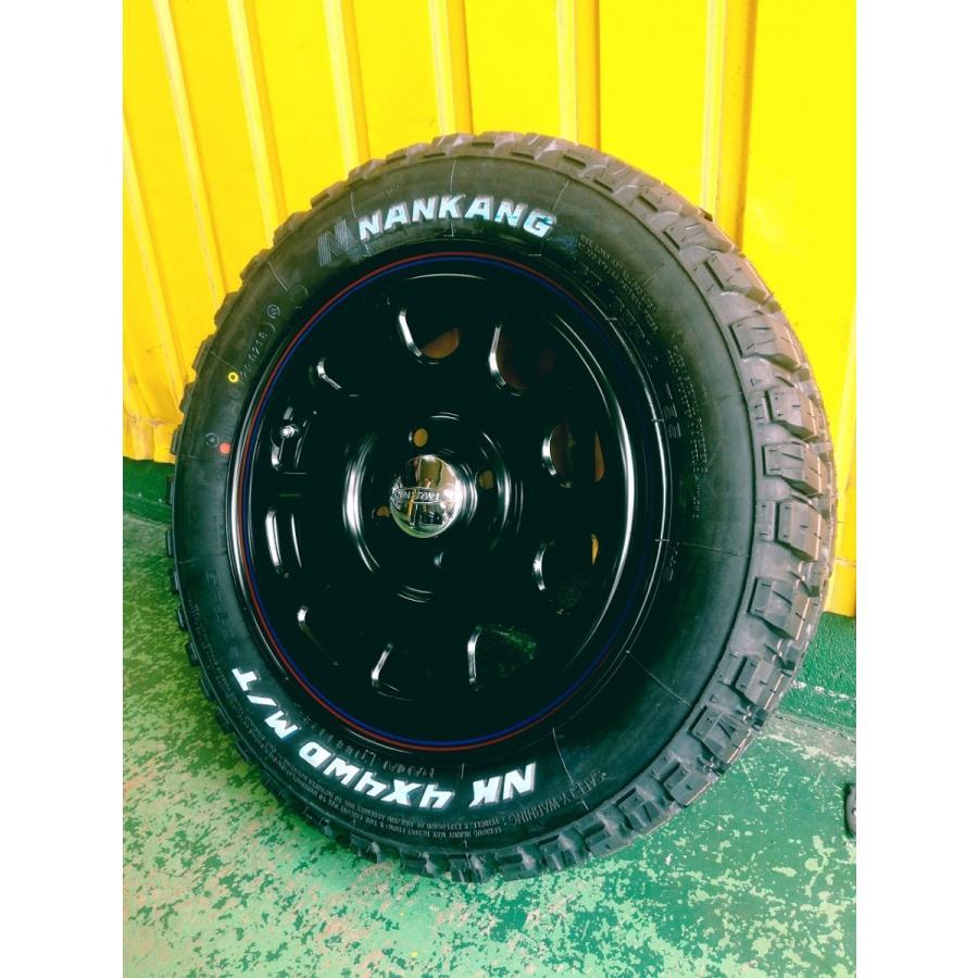 大人気商品 再入荷 165/65R14 新品 14インチ タイヤホイール4本セット Daytona 14-5.0J +42 4/100 ブラック  ホワイトレター|garage1-shop|05