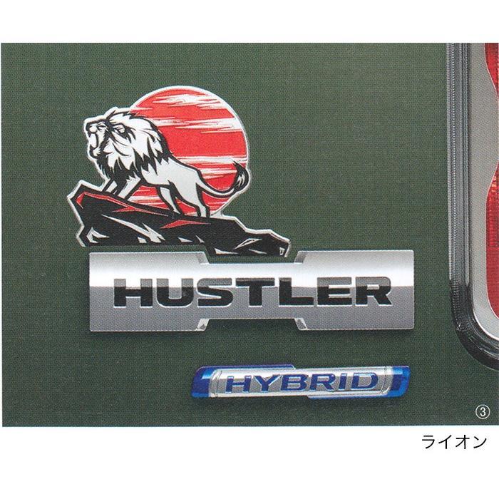 SUZUKI スズキ 純正 アクセサリー パーツ HUSTLER ハスラー デコステッカー 9923A-59S40 9923A-59S50 9923A-59S60 9923A-59S70 9923A-59S80 MR52S MR92S|garageidea|04