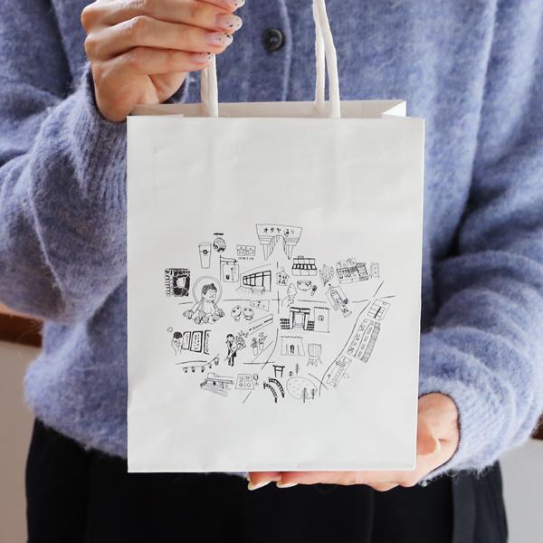 手提げ 紙袋 S/M/L/LL/水うちわ用|garandou|02