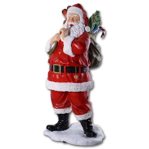 プレゼント一杯のサンタ / Santa with Toys 6ft.