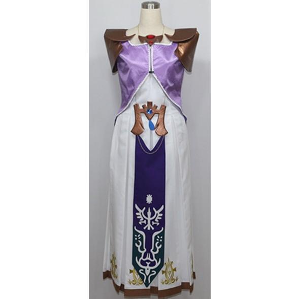 ゼルダの伝説 トワイライトプリンセス ゼンダ姫 コスチューム パーティー イベント コスプレ衣装cc1720