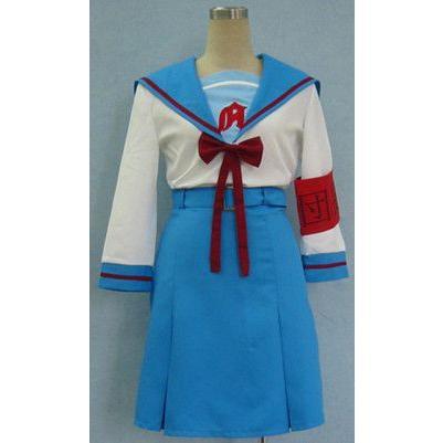 涼宮ハルヒの憂鬱 ハルヒ 北高女子長袖制服 コスプイ衣装