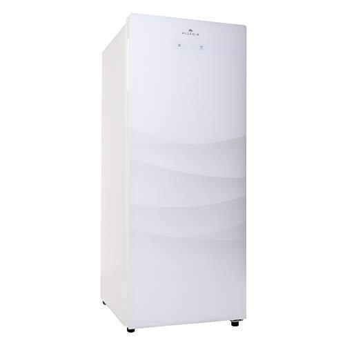 ALLEGiA(アレジア) 冷凍庫(150L) 前開き ストッカー 霜取り不要 フリーザー AR-BD156-NW ホワイト冷凍·冷蔵モード