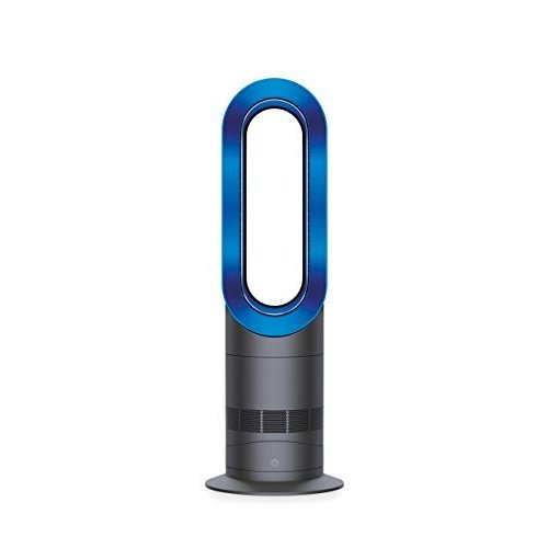 Dyson AM09 Fan Heater, Iron/Blue by Dyson