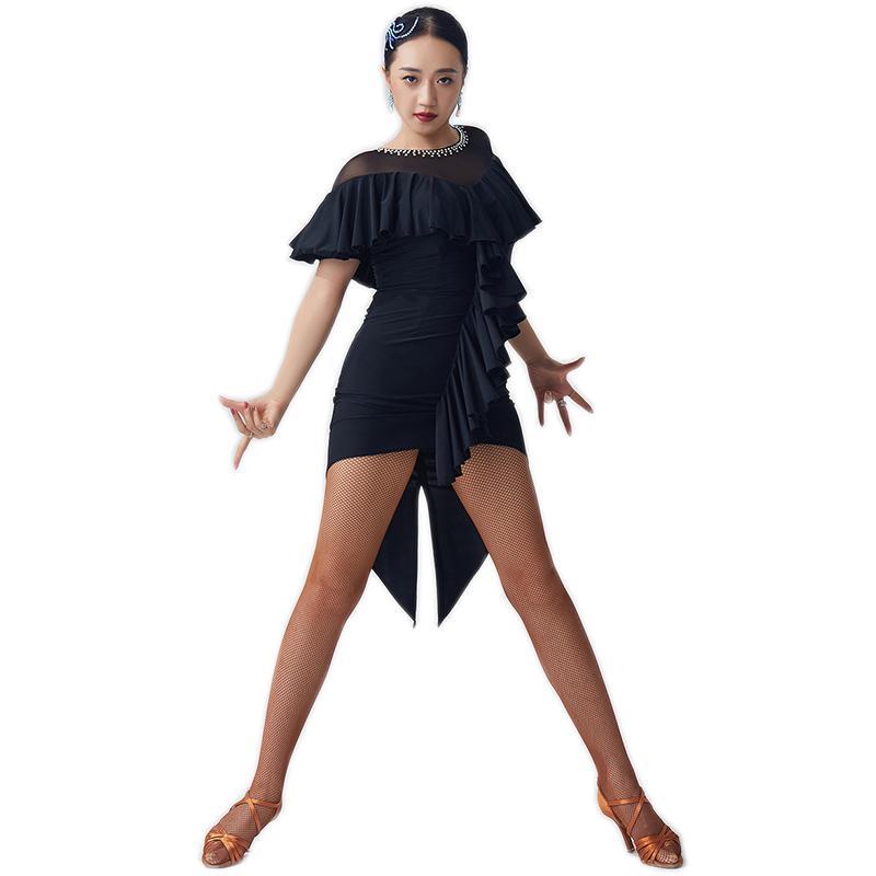 実物 Garuda SHOP 海外 レディース社交ダンス衣装 競技ドレス ラテンドレス 品番2702 高級品 発表会用演出服パーティードレス サイズ調整可