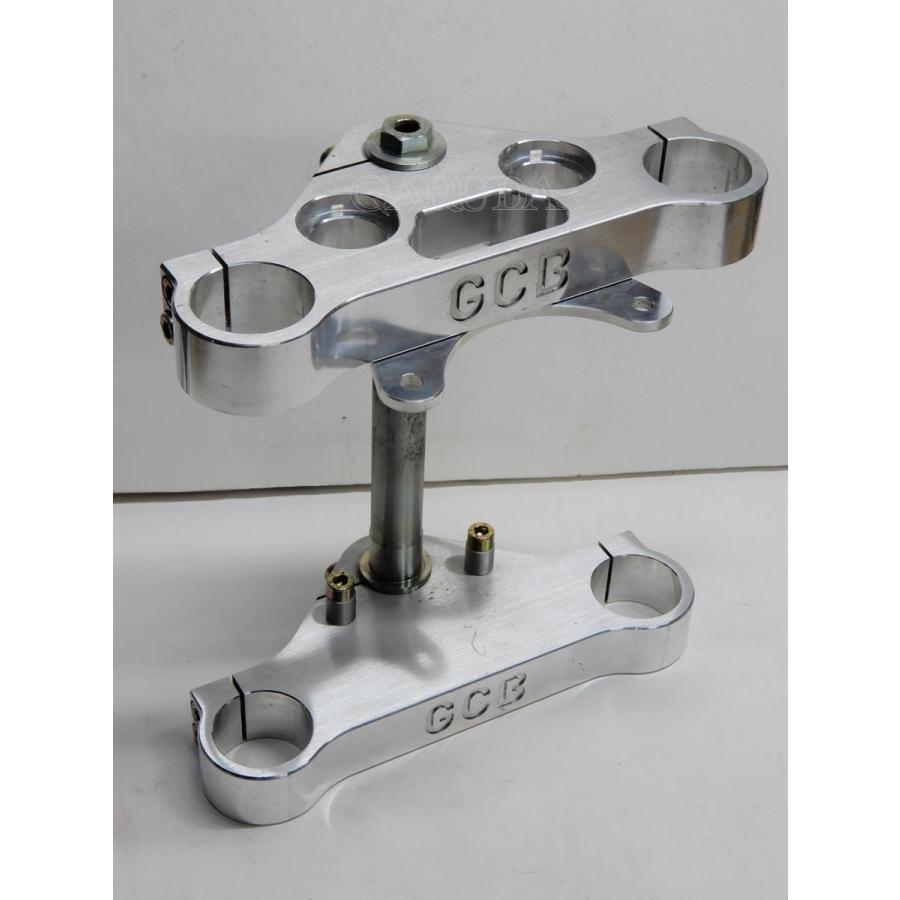 G.C.B.  ユニバーサル(汎用) 43Φ トリプルクランプセット(アルミ製)ハーレーダビッドソン 883/1200用 garudaonlinestore
