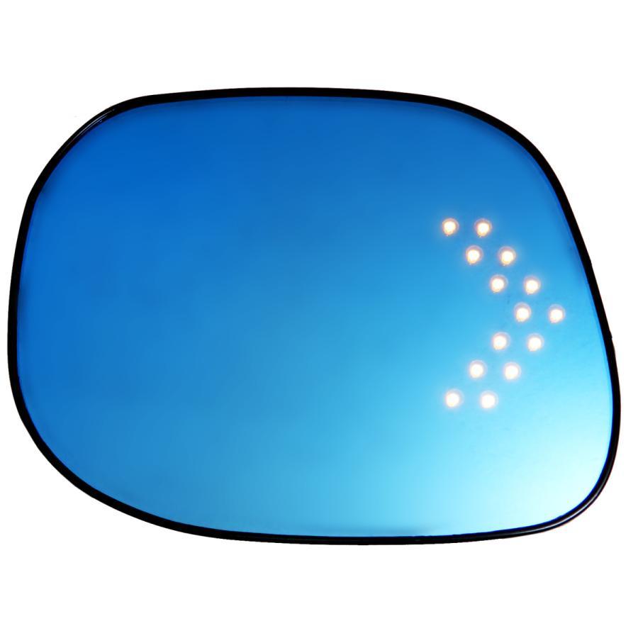 GARUDA BLLED MIRROR BHO-42 ホンダ N-BOX(JF3/4) 2017/9- LED付きブルーミラー Nボックス 現行車|garudaonlinestore|02
