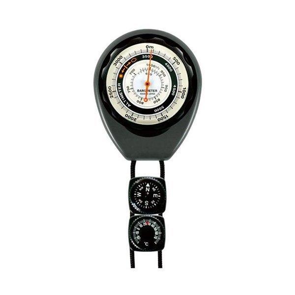 コンパス 卓抜 サーモ付高度計 高度0~5000m 爆買い新作 気圧620~1024hPa 630