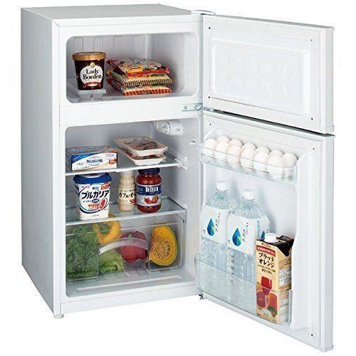 ハイアール 85L 一人暮らし 2ドア冷蔵庫 直冷式 右開き ホワイト JR-N85A-W|gbft-online|02