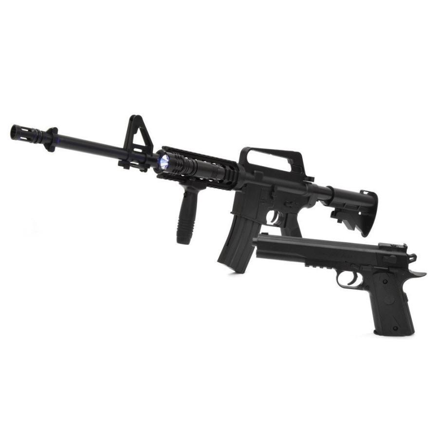 驚きの値段 VERSOS エアーガンセット 人気の製品 Colt1911モデル M4 エアーガンキッ R.I.Sモデル コルトモデル