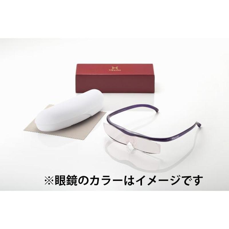 ハズキ Hazuki ルーペ ラージ クリアレンズ 1.32倍 黒 gbft-online 02