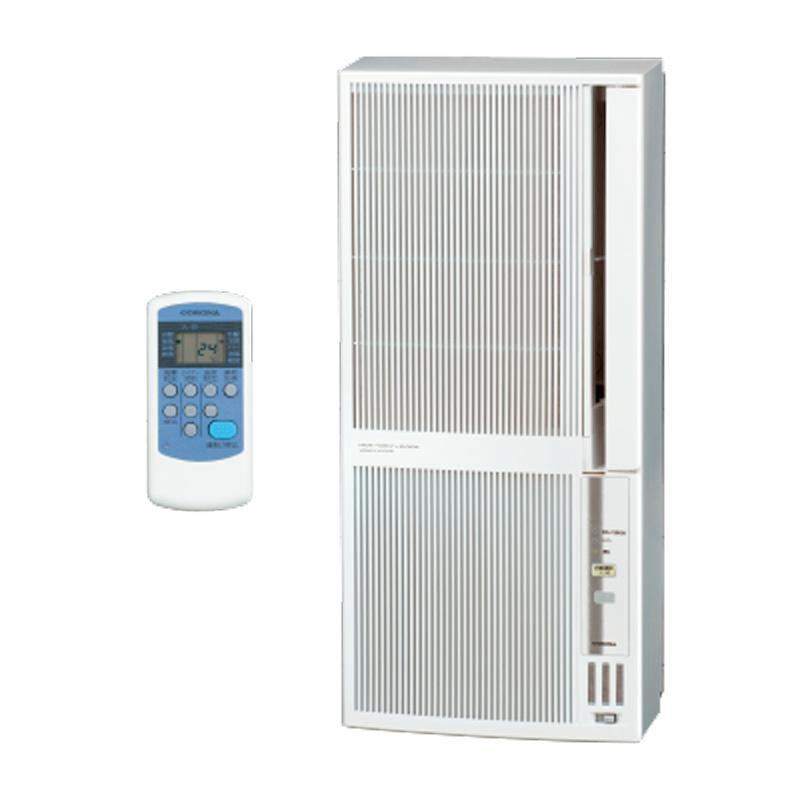 CORONA ReLaLa リララ ウインドエアコン シェルホワイト CWH-A1821-WS 冷暖房兼用タイプ 日本全国 送料無料 日本
