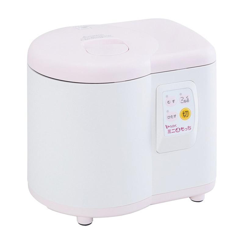 MK 激安通販販売 エムケー精工 餅つき機 家庭用 ミニもっち ホワイト×ピンク SALE RM-05MN