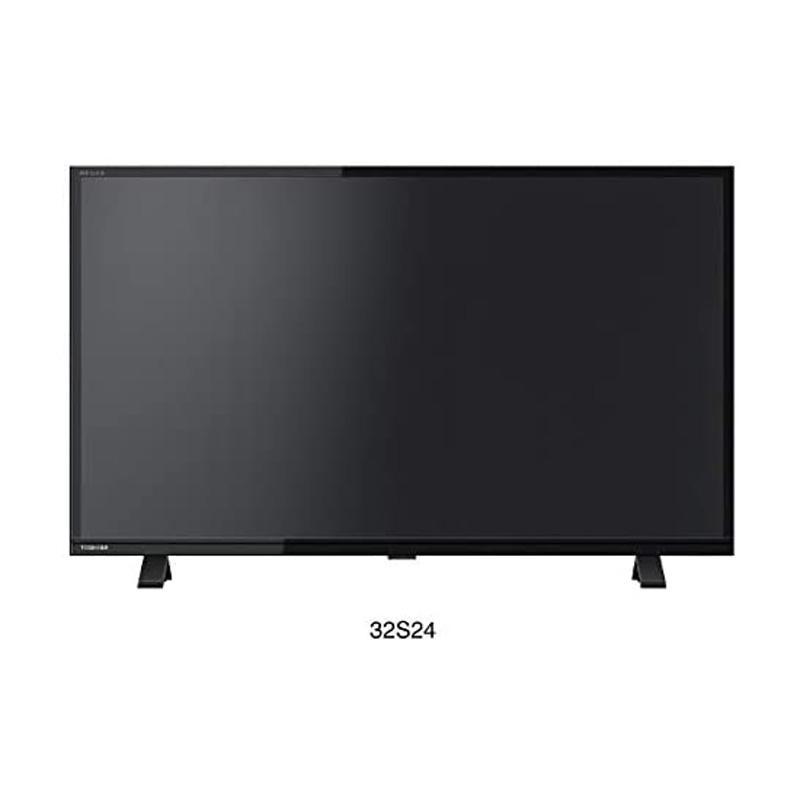 上質 東芝 TOSHIBA 32型 休み ハイビジョンLED液晶テレビ 32S24 HDD録画対応 別売USB REGZA