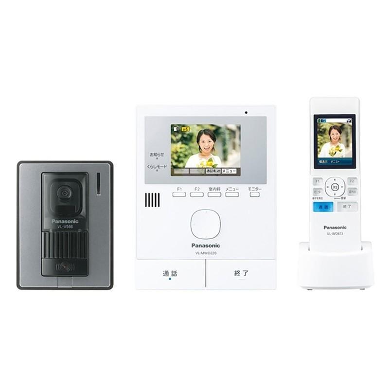 パナソニック Panasonic 高級 ワイヤレスモニター付 テレビドアホン VL-SWD220K 使い勝手の良い 電源コード式