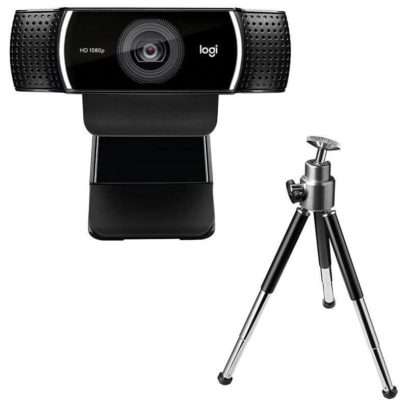 ロジクール 通販 Logicool WEBカメラ フルHD 1080p ついに再販開始 Pro ブラック Webcam C922n Stream