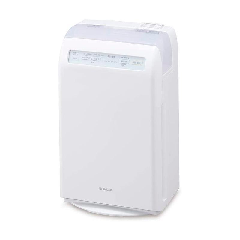 アイリスオーヤマ 加湿 加熱式 空気清浄機 10畳 HXF-C25-W ホワイト