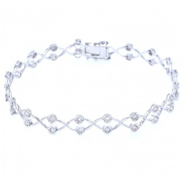 注目ブランド ユキザキセレクトジュエリー ブレスレット ホワイトゴールド ダイヤモンド - レディース ジュエリー 新品, 本物品質の 22745a9c