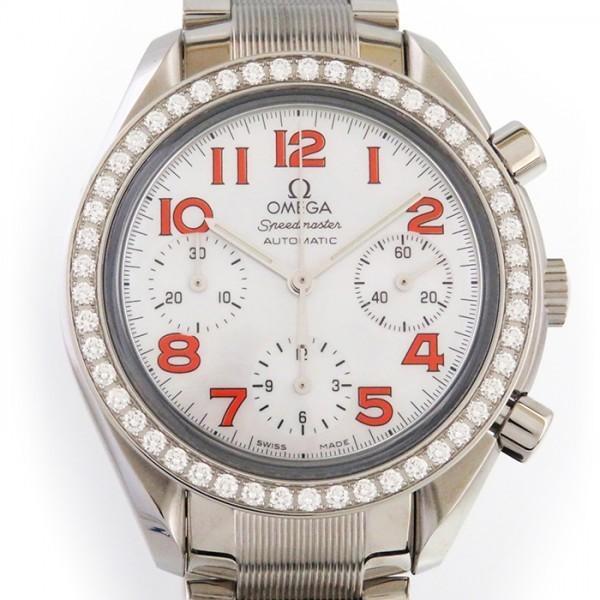 正規通販 オメガ 腕時計 レディース スピードマスター 3535.78 ベゼルダイヤ 3535.78 ホワイト文字盤 レディース 腕時計 新品, トンバラチョウ:94d88a1d --- airmodconsu.dominiotemporario.com