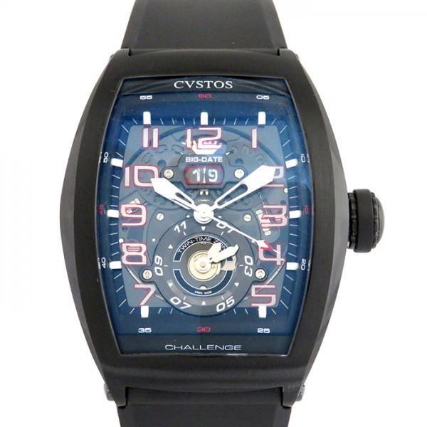 【驚きの値段】 クストス 腕時計 その他 チャレンジ クストス ツインタイム CVT-TW-TBST ブラック文字盤 CVT-TW-TBST メンズ 腕時計 新品, フィットネス&サプリメントのMW:fe7b748e --- airmodconsu.dominiotemporario.com