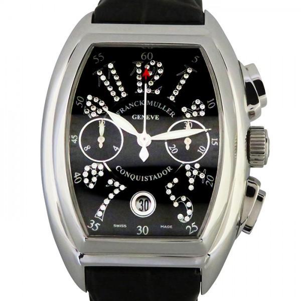 最も  フランク 8005CC・ミュラー コンキスタドール ジョーカー 8005CC CD J J ブラック文字盤 ブラック文字盤 メンズ 腕時計, 岩泉ファーム:3ce337a1 --- airmodconsu.dominiotemporario.com