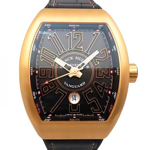 日本初の フランク・ミュラー ヴァンガード V45SC DT 5N NR ブラック文字盤 メンズ 腕時計 新品, 美濃市 984cc5b1