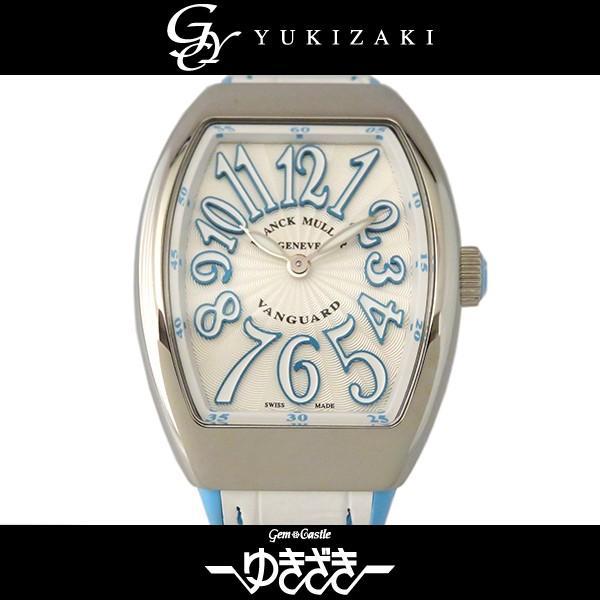 色々な フランク・ミュラー ヴァンガード V32QZACBL ホワイト文字盤 レディース 腕時計 新品, SuperSportsXEBIO 179d31c3