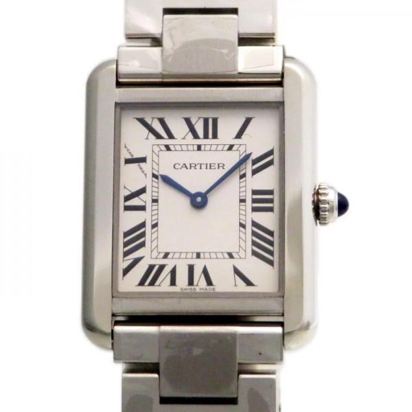 【オープニングセール】 カルティエ タンク ソロ SM W5200013 SM シルバー文字盤 腕時計 レディース 腕時計 W5200013 新品, OKショップ:c008091f --- airmodconsu.dominiotemporario.com