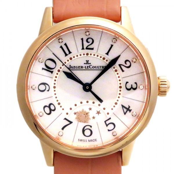 【国際ブランド】 ジャガー・ルクルト ランデヴー ナイト&デイ Q3462590 ホワイト文字盤 レディース 腕時計 新品, ハンノウシ 00319fdb