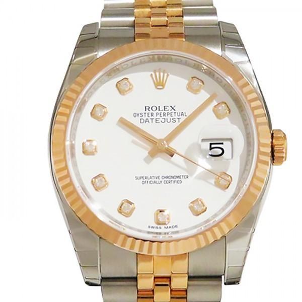 人気を誇る ロレックス デイトジャスト 116231G メンズ 新品 ホワイト文字盤 メンズ 腕時計 116231G 新品, ベビーチャイルド リスヤ:f5b2d21e --- airmodconsu.dominiotemporario.com