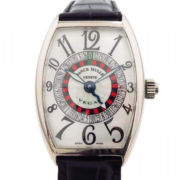 値引 フランク・ミュラー トノウカーベックス ヴェガス ヴェガス 5850VEGAS 5850VEGAS シルバー文字盤 メンズ メンズ 腕時計, Amazing:47d893b5 --- airmodconsu.dominiotemporario.com