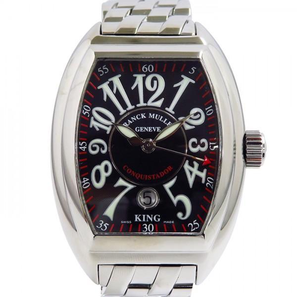 『4年保証』 フランク・ミュラー コンキスタドール キング 8005K 8005K SC SC ブラック文字盤 キング メンズ 腕時計, WATER:eb53dfe1 --- airmodconsu.dominiotemporario.com
